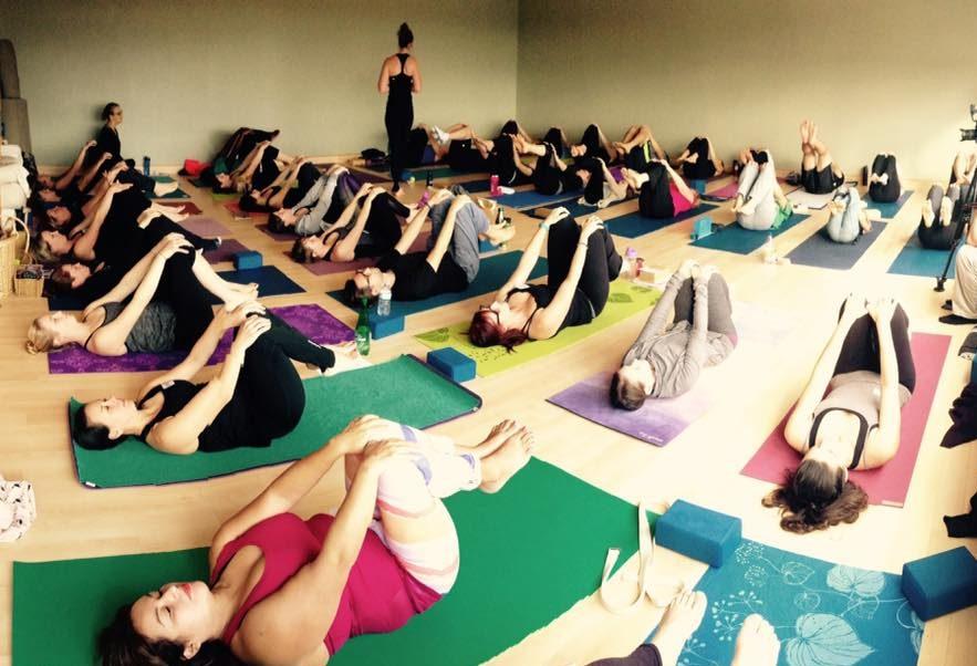 Karma Yoga Class with the 2016 Pranalife Yoga Teacher Training crew in Waterloo, Ontario