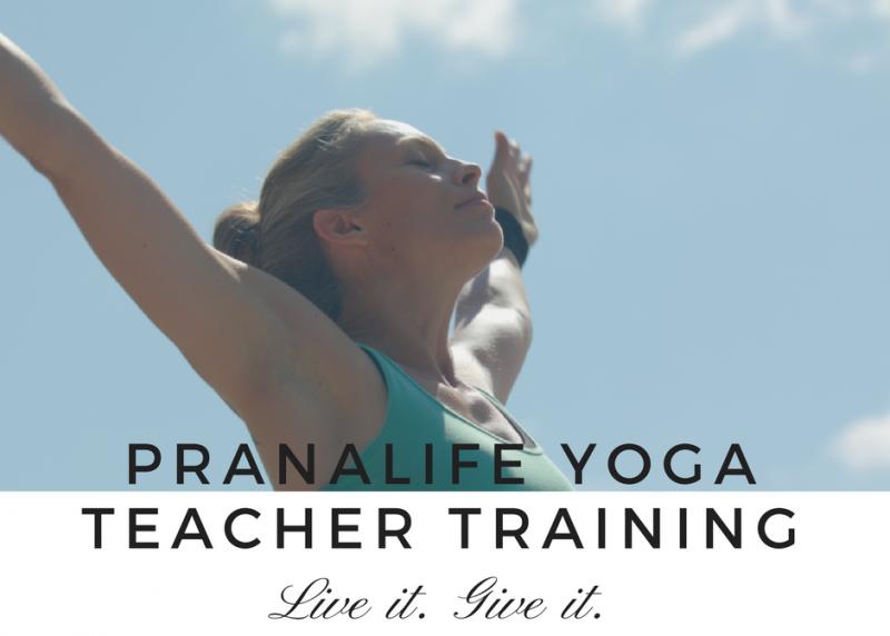 Pranalife Yoga Teacher Training with Asia Nelson in Kitchener Waterloo Ontario