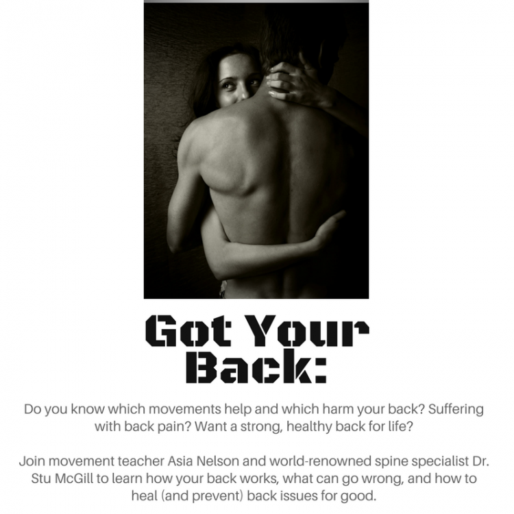 Got Your Back: Yoga and Back Pain, with Dr. Stuart McGill and Pranalife Yoga's Asia Nelson