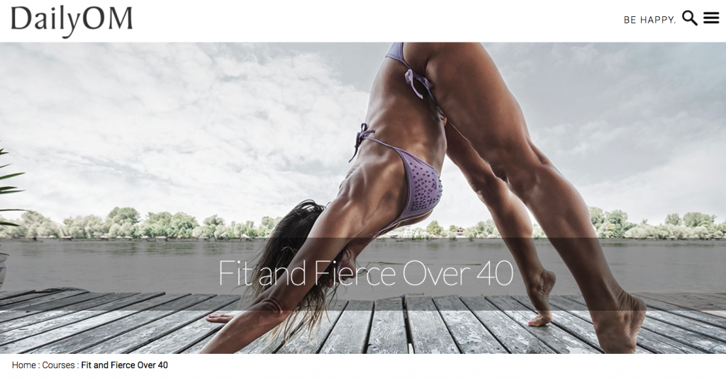 Sadie Nardini's Fit and Fierce over 40 course