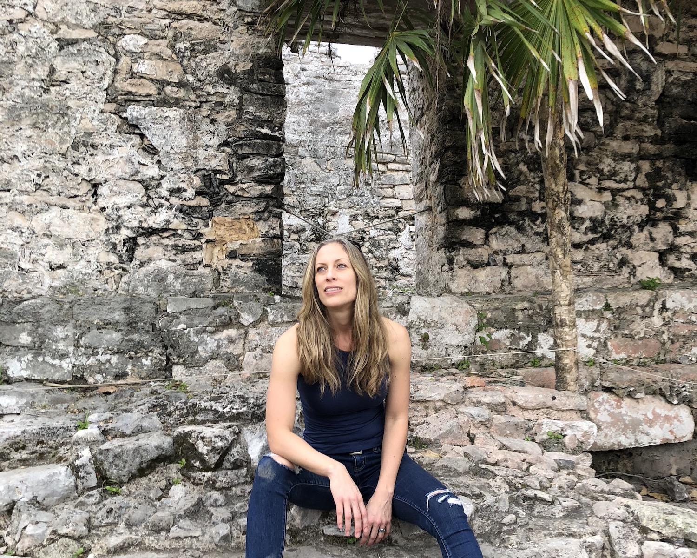 Asia Nelson Tulum Ruins Mexico